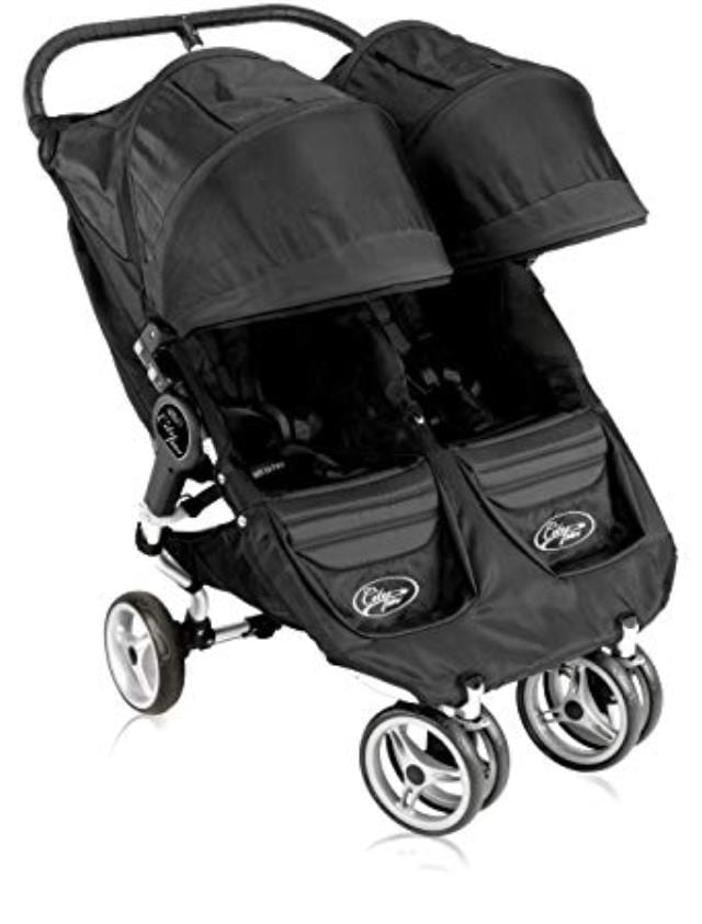 Double Stroller Side-by-Side up to 50 lbs. each child ...